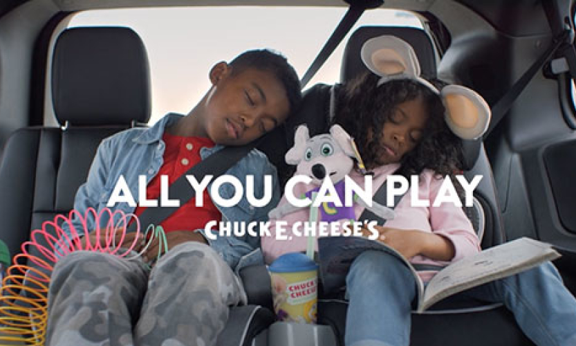 "CHUCK E. CHEESE'S - ""All You Can Play"""